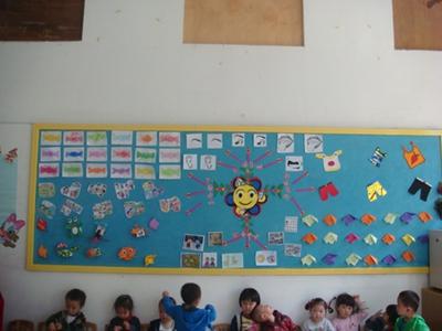 幼儿园小班手工作品展;