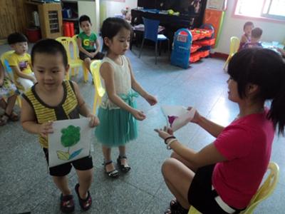 实艺幼儿园教师节活动